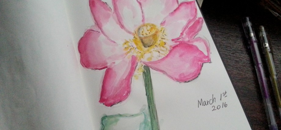 March 1st Painting Flowers Creativemag.ro Project by Cristina Parus @ creativemag.ro