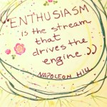 The Quoted Pages – ENTHUSIASM is the stream that drives the engine