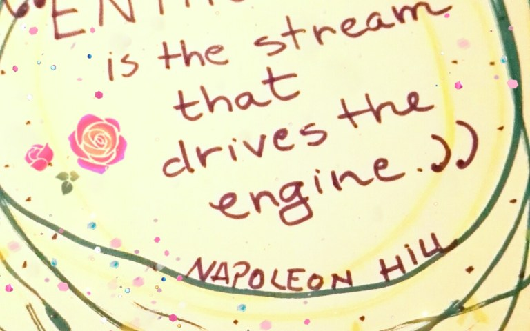 ENTHUSIASM is the stream that drives the engine -- Napoleon Hill - - quoted pages by Cristina Parus @ creativemag.ro