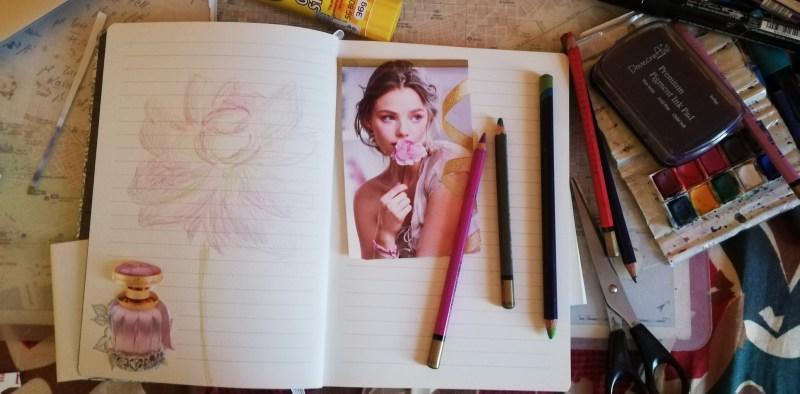 Soul Art Day 2018 Secret Garden journal