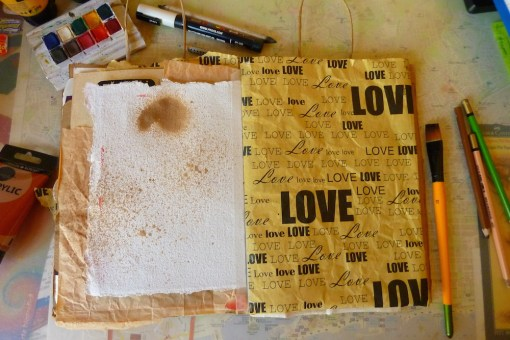 random pages in my junk journal by Cristina Parus @ creativemag.ro