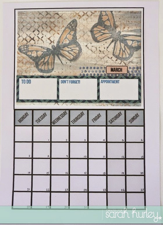 Create a Calendar – March