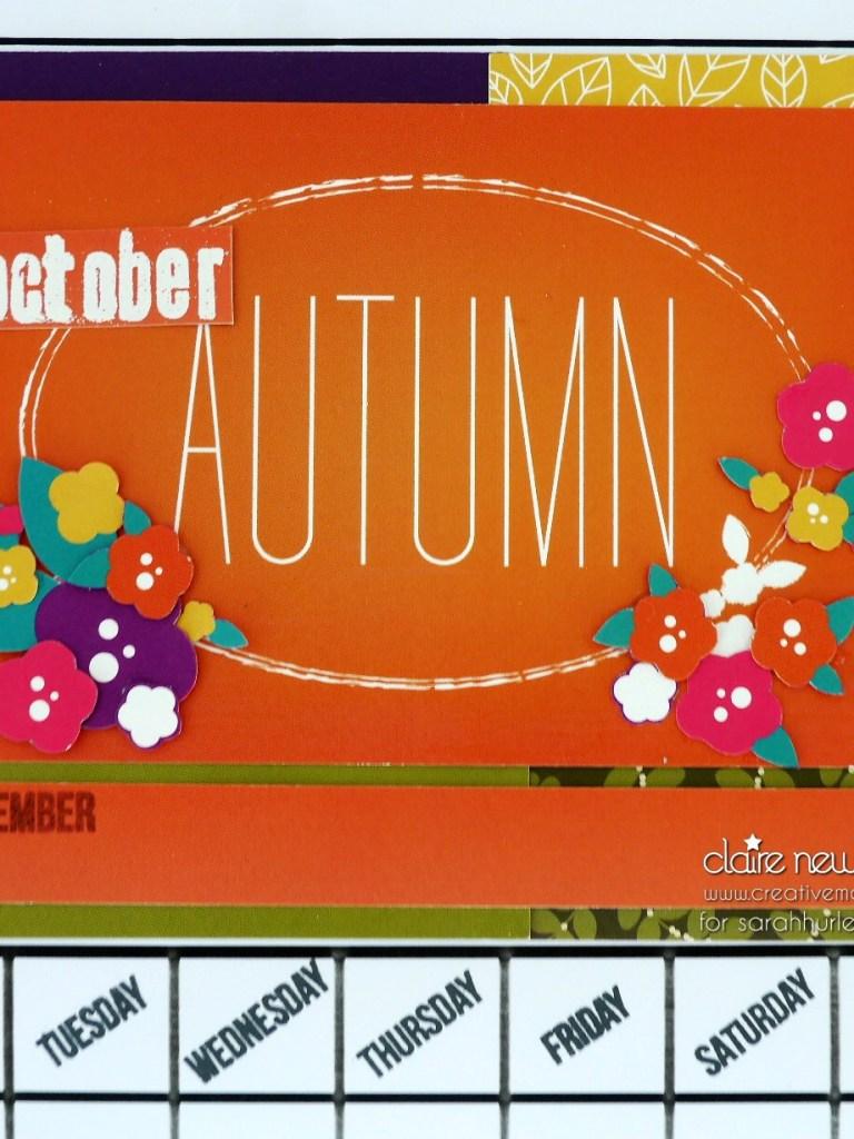 Sarah Hurley Design Papers – Calendar Page