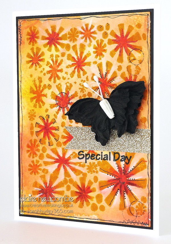 Sarah Hurley Special Editions Stamps – Autumnal Fireworks