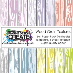 Wood Grain Textures paper pack
