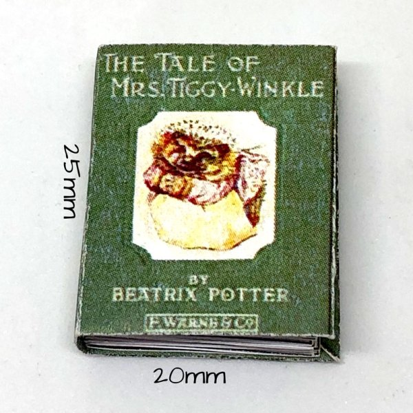 The Tale of Mrs. TiggyWinkle Miniature Book by Beatrix Potter