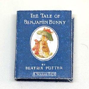 Benjamin Bunny Dollhouse Miniature Book Beatrix Potter