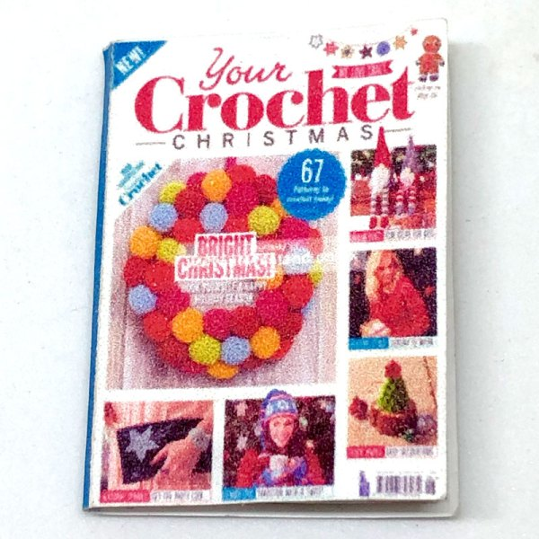 dollhouse miniature crochet magazine
