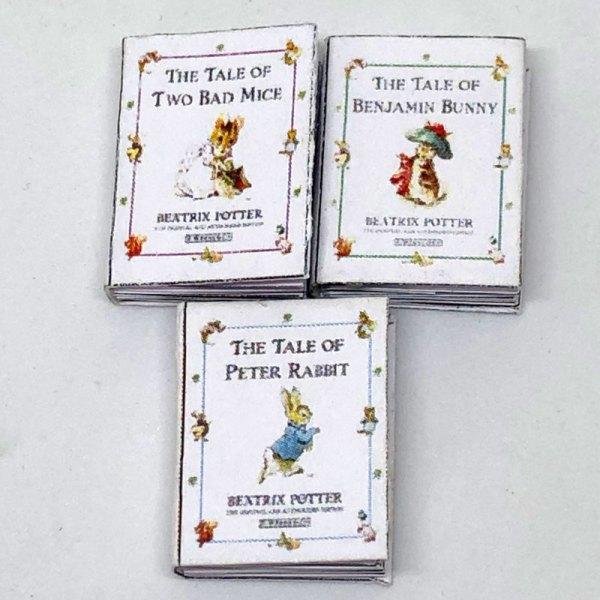 Beatrix Potter Dollhouse Miniature Books for Sale Pretoria