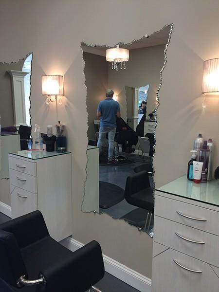Beauty Salon Mirrors Creative Mirror Amp Shower