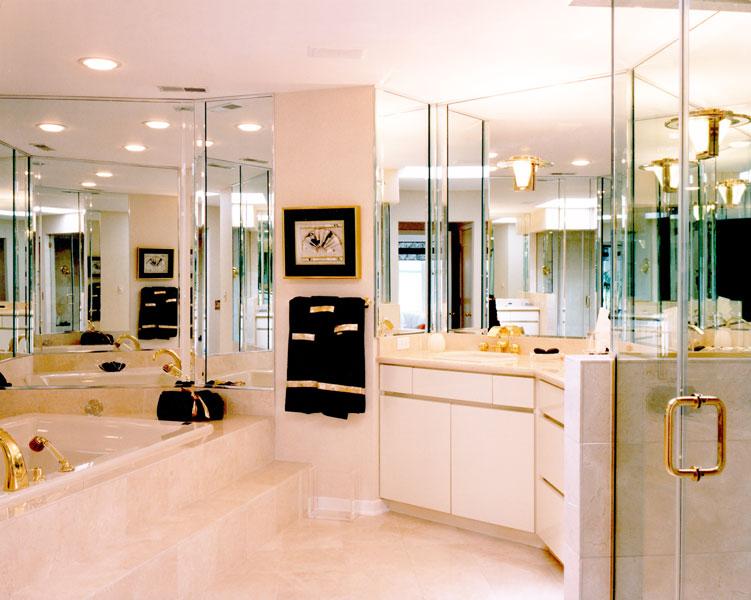 Custom Bathroom Mirrors  Creative Mirror  Shower