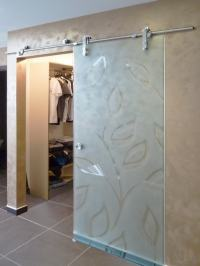 Sliding Glass Barn Doors | Creative Mirror & Shower