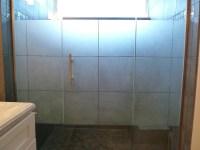 Custom Multi-Panel Etched & Sandblasted Shower Doors ...