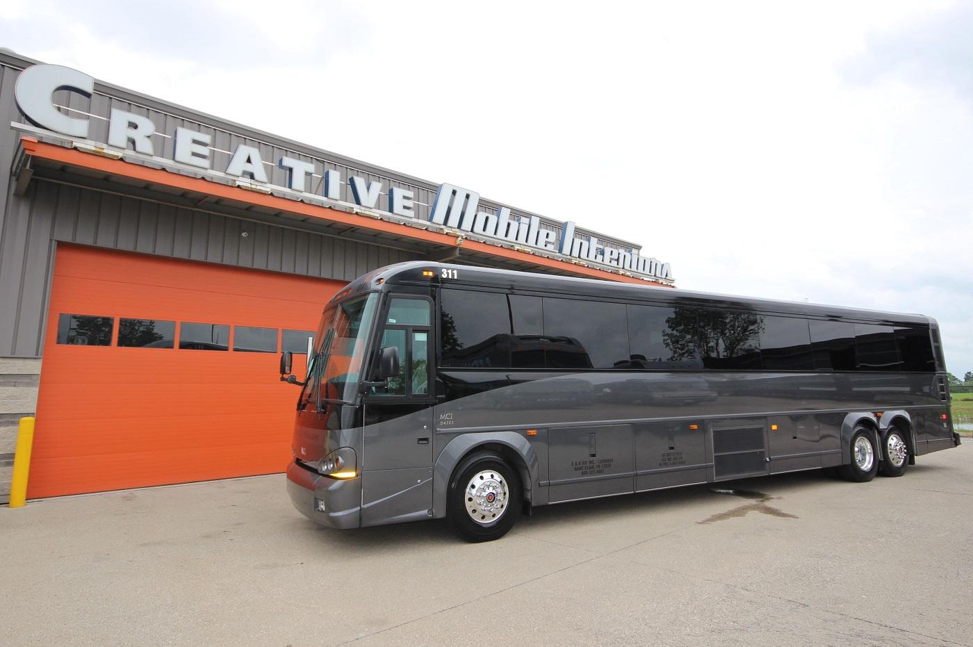 New MCI Transit Coach