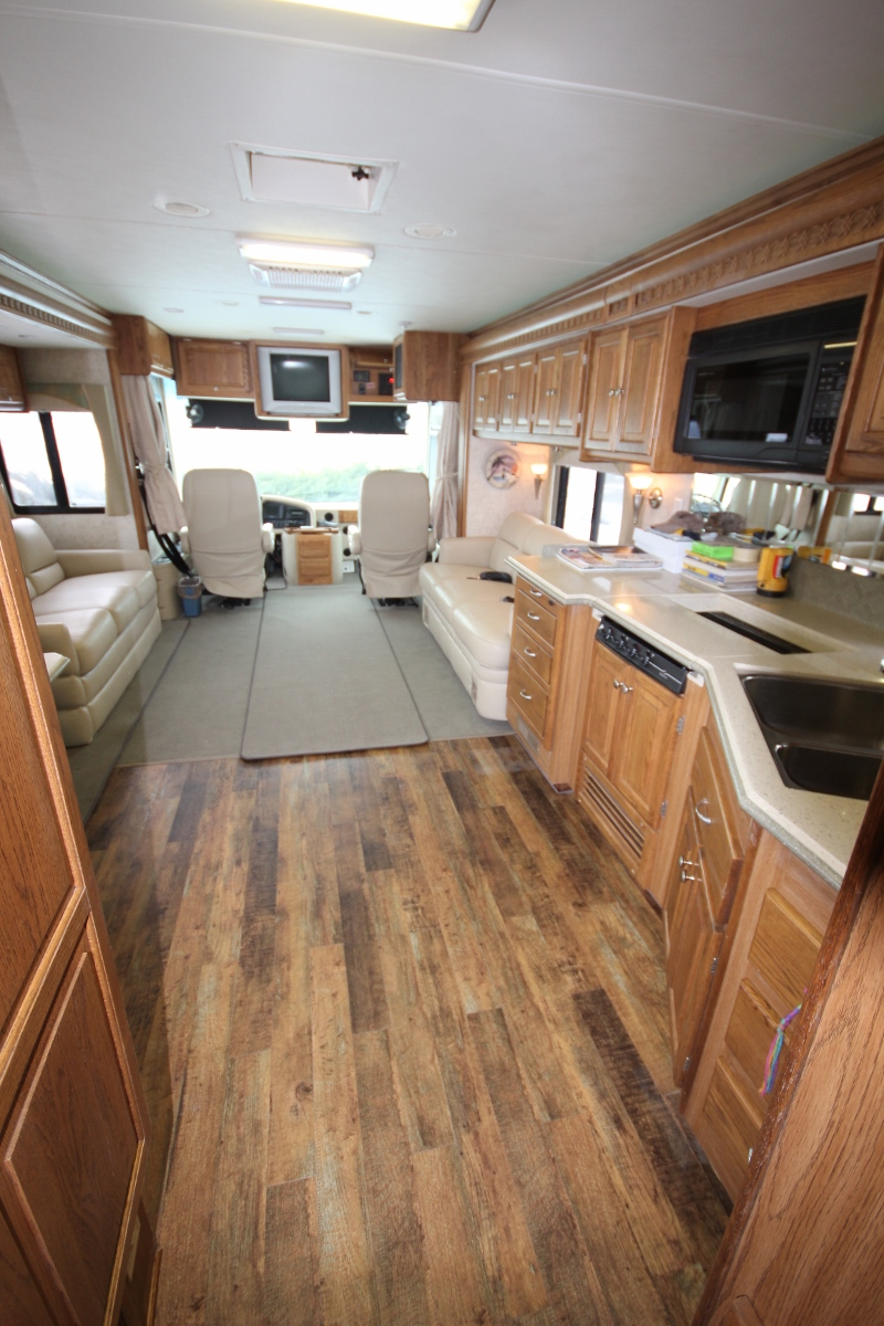 RV Coach Motorhome Retrofits  Flooring