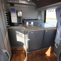 Mobile Kitchen Trailers Self Sharpening Knives Passenger Coach Galley