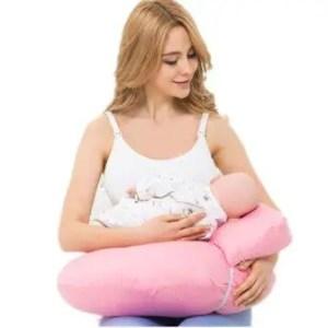 Hand free breastfeeding pillow