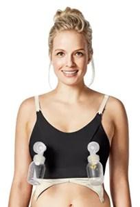 Pump hands free pumping bra