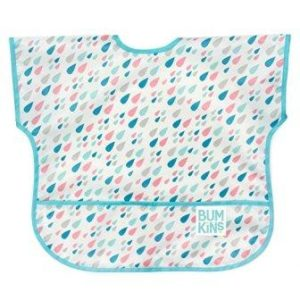 Short sleeved toddler bib