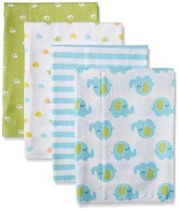 flannel burp cloth