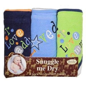 boy hooded towel