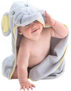 Cotton Baby hooded towel