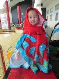 baby hooded towel