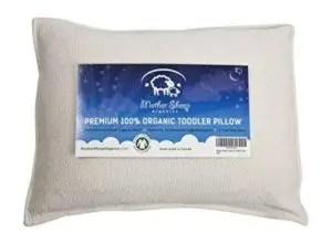 organic wool toddler pillow