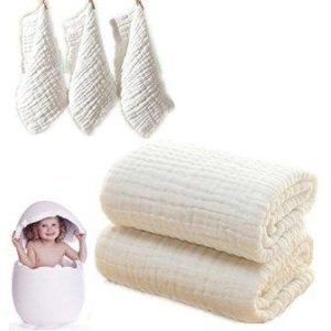 Baby Bath Towels and Washcloths Set