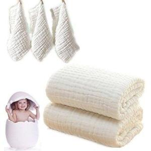 Baby Bath Towels and Washcloths Set
