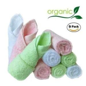 organic bamboo baby washcloths