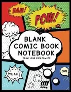 best comic sketchbook