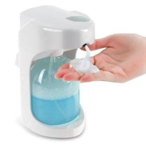 Wall Mounted/On Countertop automatic foam soap dispenser