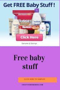 free baby stuffs