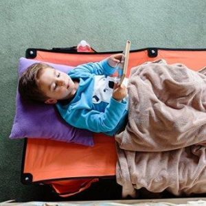 folding toddler travel bed