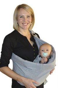 Baby Wrap Withgreenstripes Comfort Fit Ring Sling /& Breathable Soft Cotton Baby Sling Carrier