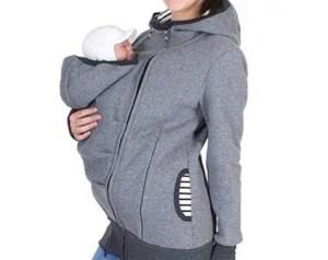 babywearing fleece jacket