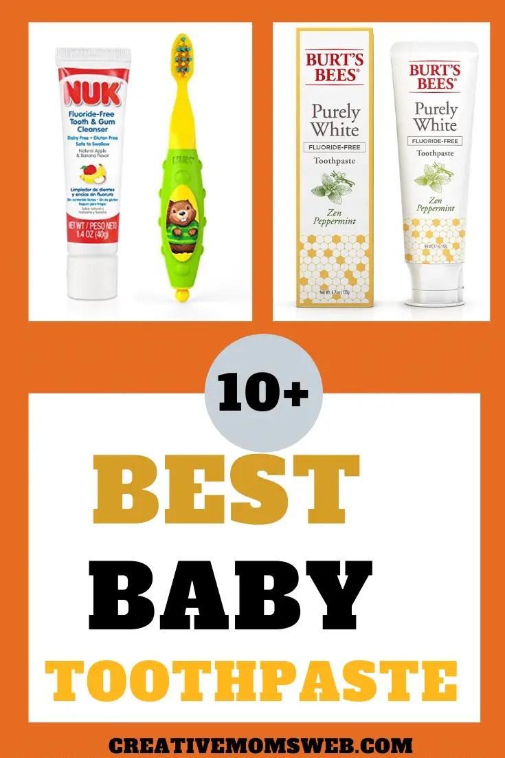 Best baby toothpaste
