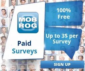 MobRog Online Surveys