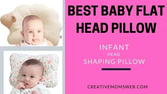 best baby flat head pillow reviews