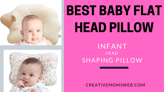 Baby Flat Head Pillow