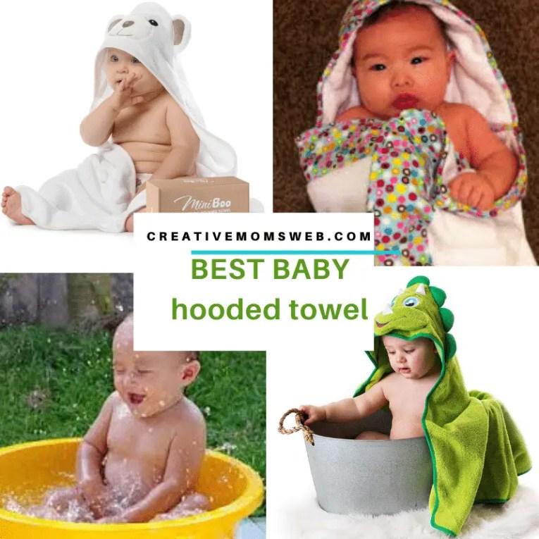 Best baby hooded towel
