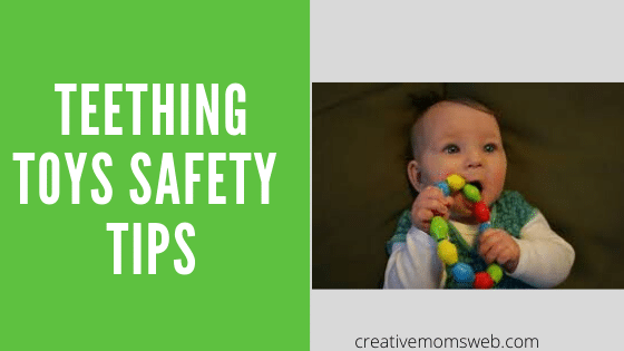 Teething toys safety tips