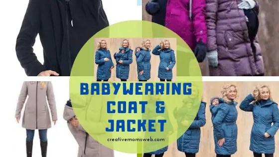 Babywearing coat and jacket
