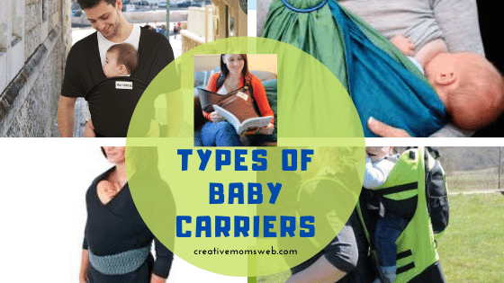 Types of baby carrier