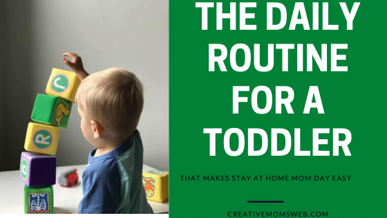 daily routine for a toddler