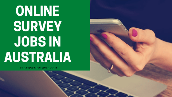 Online survey jobs in Australia