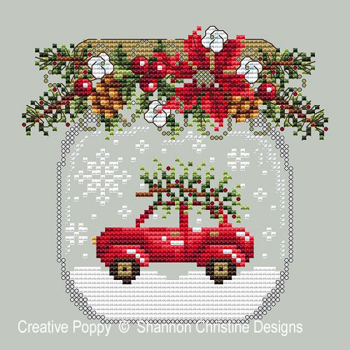 cross stitching for christmas