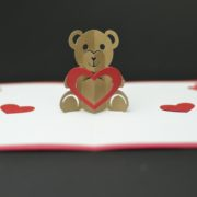 Teddy Bear Pop Up Card Template Creative Pop Up Cards