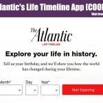 The Atlantic's Life Timeline App [COOL TOOL]